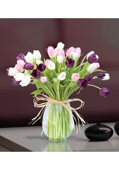 Multi Tulips Bouquet