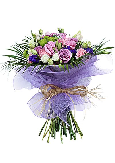 Wild Purple Hand Tied