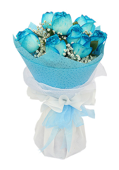 9 Lovely Kisses Blue