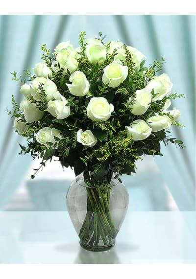 Forever Love White Roses