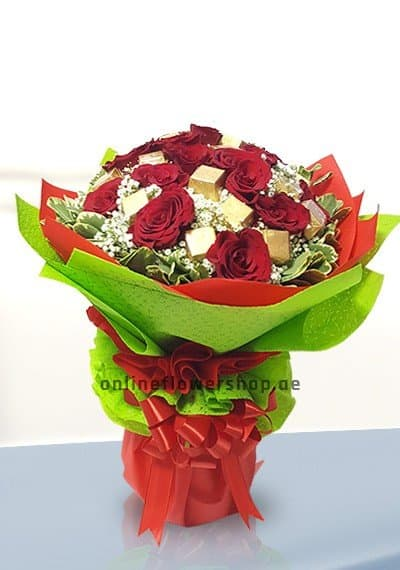 Lucky 14 Red Rose