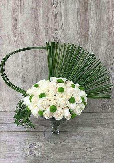 White Queen Bouquet
