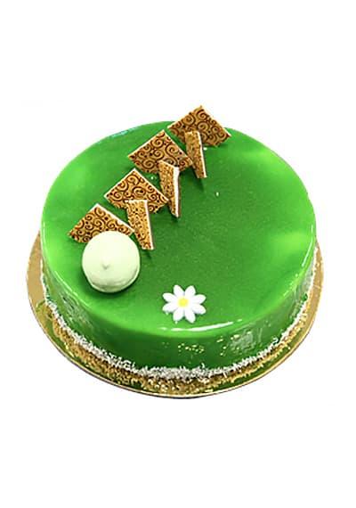 Pistachio Choco Cake