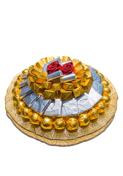 Gold Chocolate Tray