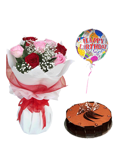 Florist in Dubai Birthday Best Combo