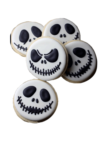 Skull Cookie Halloween