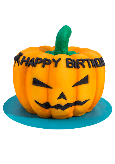 Pumpkin Birthday Cake