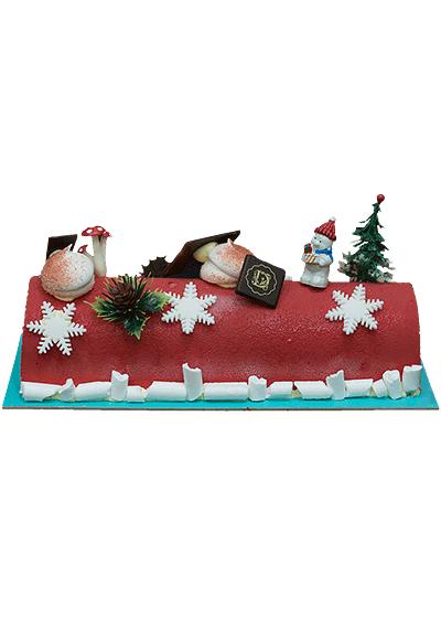 Vita Christmas Log Cake