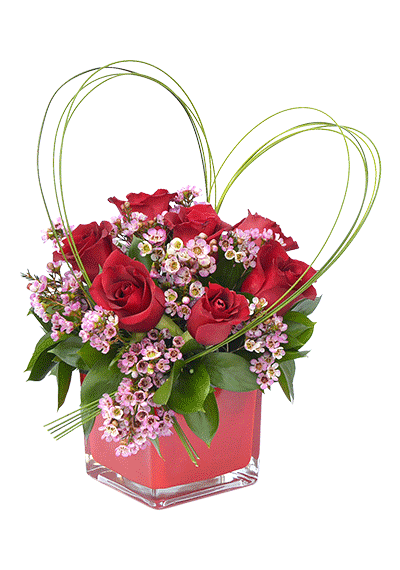 Gift flowers online Thoughtful love