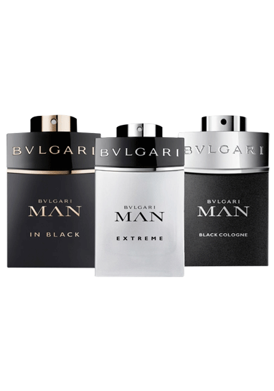 Bvlgari 3 Piece Man In Black SET