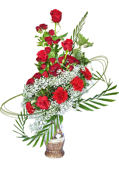 Fancy Red Style Bouquet