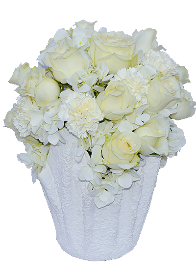 Purely White Bouquet