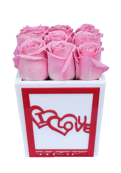 I Love - Pink