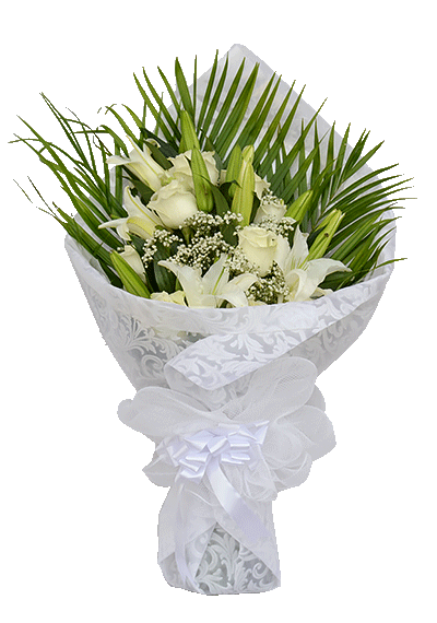 Perfect White Bouquet