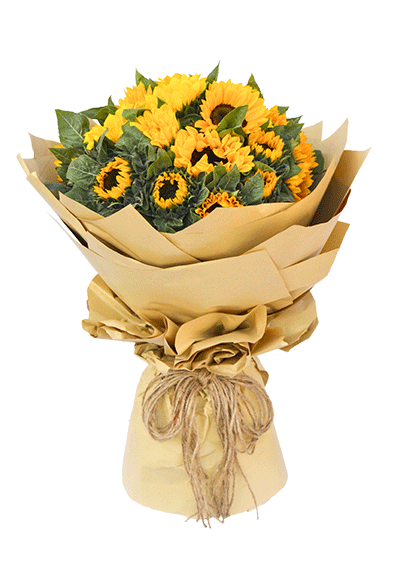 Classic Sunflower Bouquet
