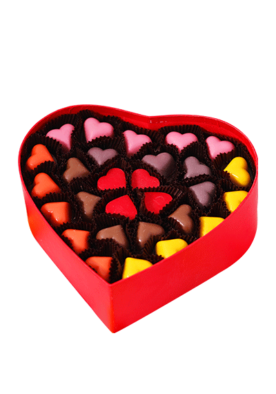 Hearty Love Chocolate