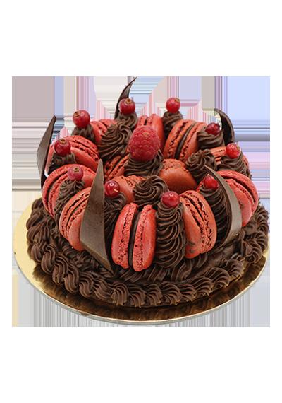 Macronade Cake