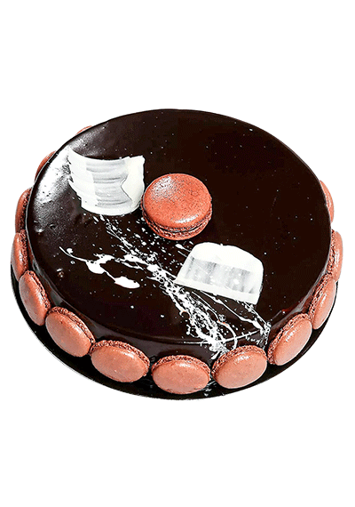 Mikado Chocolate Mousse Cake