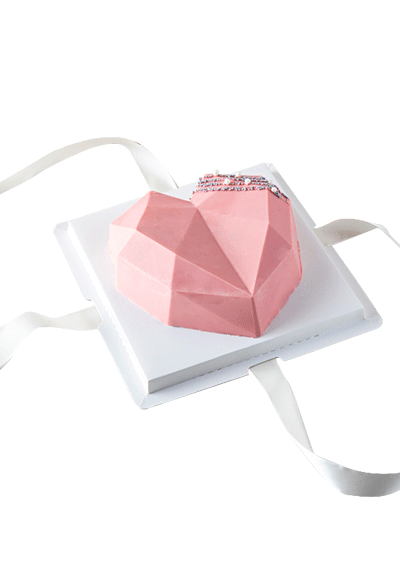 Edible Diamond Heart