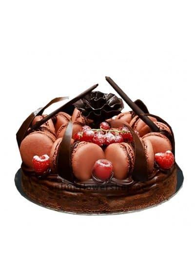 Chocolate Macaronade cake