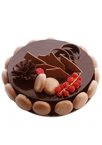 Mikado Chocolate Mousse Cake