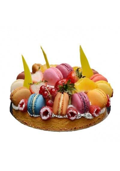 Fruit Macaronade Cake