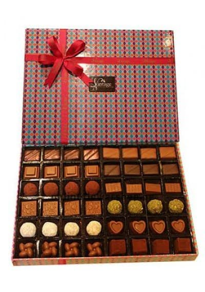 48 PCS CHOCOLATE BOX BY VINTAGE