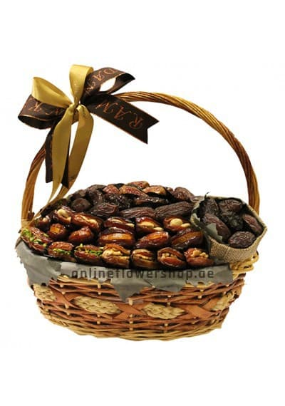 Assorted Dates Basket