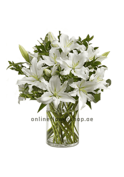 White Lilies Garden
