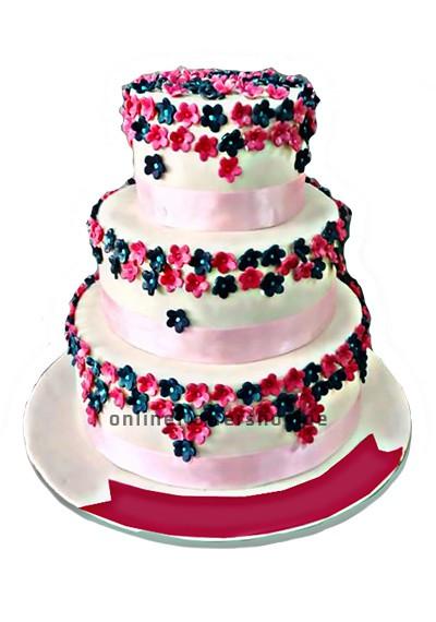 3 tier super cake