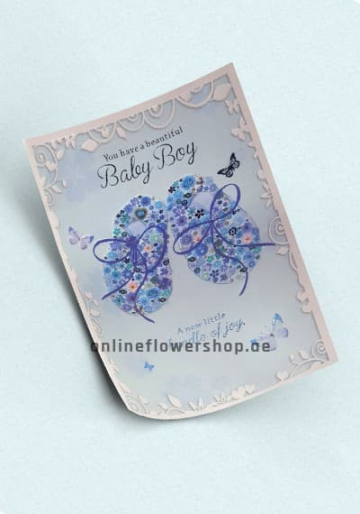 Baby Boy Greeting Card 2