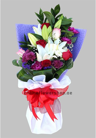 Captivating Smile Bouquet