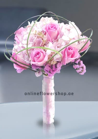 Bridal Hand Tied Pink
