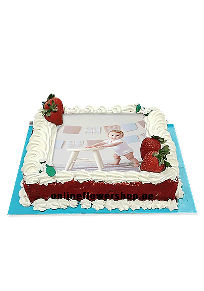 Picture Cake Rectangular
